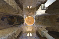 Agia Sophia at Mystras, Greece Royalty Free Stock Images