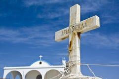 Agia Tekla Cypr kościelna wyspa Zdjęcia Stock