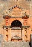 Agia Triada修道院入口,克利特 库存照片