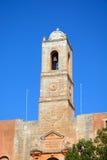 Agia Triada修道院钟楼 免版税库存照片