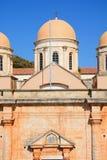 Agia Triada修道院,克利特 免版税图库摄影