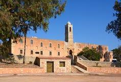 Agia Triada修道院,克利特 图库摄影