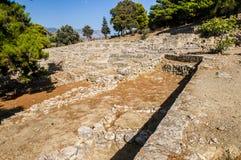 Agia Triada宫殿 库存照片