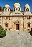 Agia Triada -在克利特海岛上的修道院  免版税库存照片