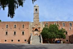 Agia Triada monaster Obraz Stock