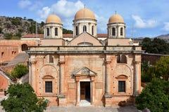 Agia Triada monaster Zdjęcie Royalty Free