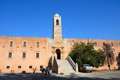 Agia Triada monaster, Crete Fotografia Stock