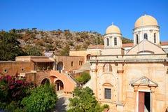Agia Triada monaster, Crete Obrazy Stock