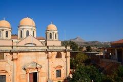 Agia Triada monaster, Crete Zdjęcia Stock