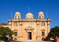 Agia Triada monaster, Crete Zdjęcie Stock