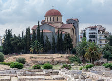 Agia Triada Orthodox Church Atehns Royalty Free Stock Photography