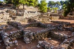 Agia Triada pałac Zdjęcia Stock