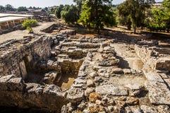Agia Triada Palace Royalty Free Stock Photography