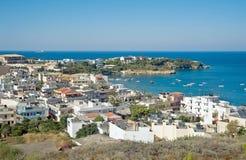 Agia zatoka Pelagia Obrazy Royalty Free