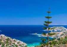 Agia zatoka Pelagia Fotografia Royalty Free