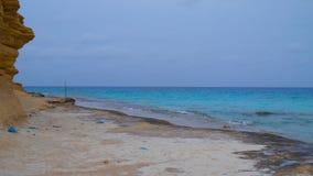 Agiba plaża Zdjęcia Royalty Free