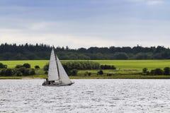 Żagiel łódź Zdjęcie Royalty Free