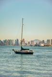 Żagiel łódź - San Diego Obrazy Royalty Free