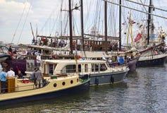 Żagiel łodzi żagiel Amsterdam 2015 Zdjęcia Stock