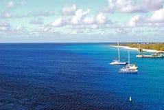 Żagiel łodzie Obrazy Royalty Free