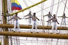 Żagiel Cartagena 2014 Obrazy Royalty Free