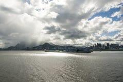 Żagiel daleko od Brazylia, Rio De Janeiro - Zdjęcia Stock