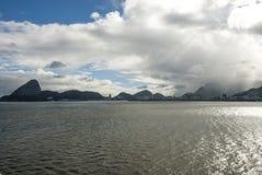 Żagiel daleko od Brazylia, Rio De Janeiro - Obraz Royalty Free