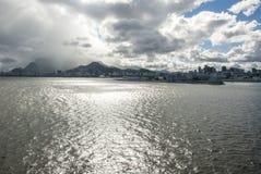 Żagiel daleko od Brazylia, Rio De Janeiro - Obraz Stock
