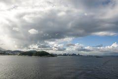 Żagiel daleko od Brazylia, Rio De Janeiro - Fotografia Stock