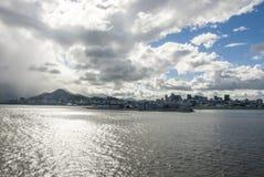 Żagiel daleko od Brazylia, Rio De Janeiro - Zdjęcia Royalty Free