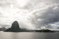Żagiel daleko od Brazylia, Rio De Janeiro - Zdjęcie Stock