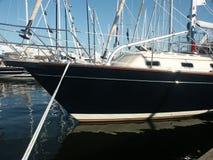 żagiel łodzi Fotografia Stock