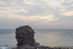 Żagiel skała w Kenting parku narodowym, Tajwan Zdjęcia Stock