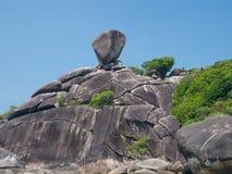Żagiel skała Zdjęcie Royalty Free