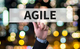 Agile Agility Nimble Quick Fast Concept Royalty Free Stock Photos
