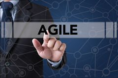 Agile Agility Nimble Quick Fast Concept Royalty Free Stock Images