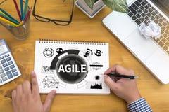 AGILE Agility Nimble Quick Fast Concept Royalty Free Stock Photo