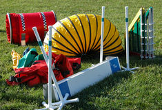 Agility Equipment Stock Photography