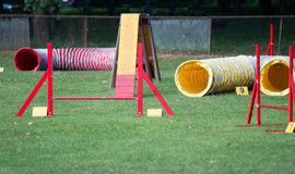 Agility Equipment Royalty Free Stock Images