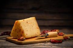 Aging artisan cheese Stock Photos