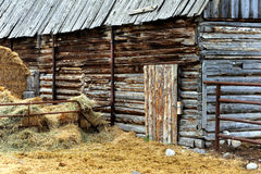 Aging Barn in Montana Royalty Free Stock Image