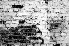 Aging brick wall Stock Photo