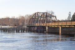 Aging bridge Royalty Free Stock Photos