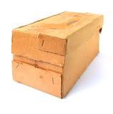 Aging carton Royalty Free Stock Image