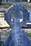 Aging Celtic cross Stock Images