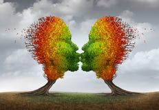Aging Couple royalty free illustration
