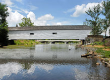 Aging Covered Bridges Royalty Free Stock Photos