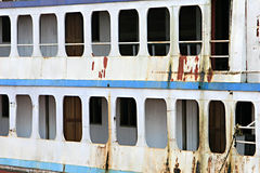 Aging Ferry Boat Royalty Free Stock Image
