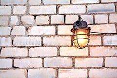 Aging lamp Stock Image