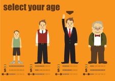Aging is nature Royalty Free Stock Images